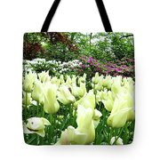 Central Park Tulips Tote Bag