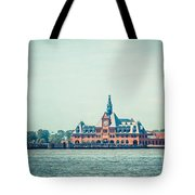 Central Railroad Terminal Of New Jersey Tote Bag