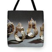 Ceremonial Marriage Rings Tote Bag