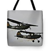 Cessna Bird Dog O-1el-19 Tote Bag