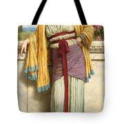 Cestilia Tote Bag by John William Godward
