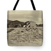 Chaffee County Poor Farm Print Tote Bag