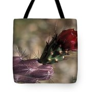 Chain Cholla Cactus Bloom Tote Bag
