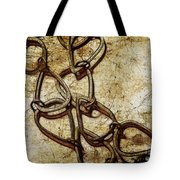 Chain Links Tote Bag by Judi Bagwell