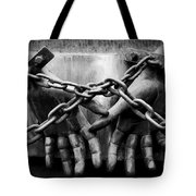 Chains Tote Bag by Fabrizio Troiani