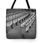 Chair Seating In An Arena With Oak Leaf Tote Bag