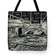 Chairs Undone Tote Bag