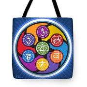 Chakra Circle Tote Bag