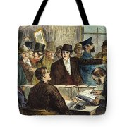 Challenging A Voter, 1872 Tote Bag