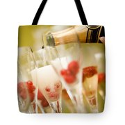 Champagne Tote Bag by Kati Molin