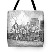 Champagne Production, 1855 Tote Bag