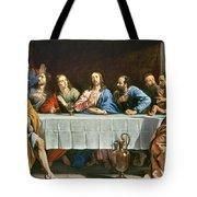 Champaigne: Last Supper Tote Bag
