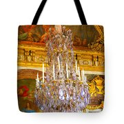 Chandelier At Versailles Tote Bag