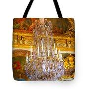 Chandelier At Versailles Tote Bag