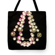 Chandelier From Pearls Tote Bag