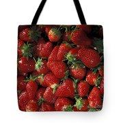 Chandler Strawberries Tote Bag