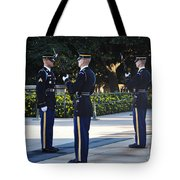 Changing Of The Guards  Tote Bag