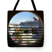 Channelside Tampa Art Deco Tote Bag