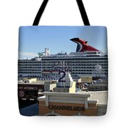 Channelside Tampa Tote Bag