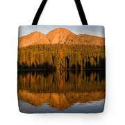 Chaos Crags Reflecting Tote Bag
