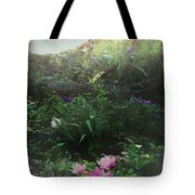 Chaos In Morning Mist Tote Bag