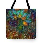 Chaotic Colour Tote Bag