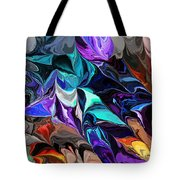 Chaotic Visions Tote Bag