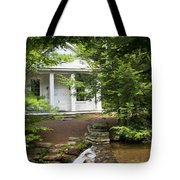 Chapel At Hickory Run State Park Tote Bag