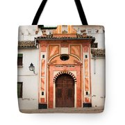 Chapel Of Conception In Cordoba Tote Bag