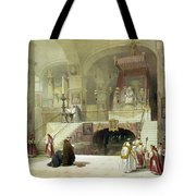 Chapel Of The Annunciation Nazareth Tote Bag