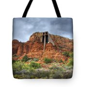 Chapel Of The Holy Cross  Tote Bag