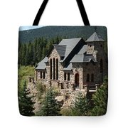 Chapel On The Rock Tote Bag