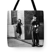 Chaplin: Modern Times, 1936 Tote Bag