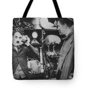 Chaplin: The Pawnshop Tote Bag