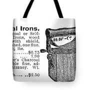 Charcoal Iron, 1895 Tote Bag