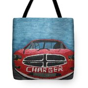 Charger Art By My Son Tote Bag
