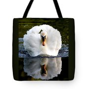 Charging Swan Tote Bag