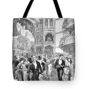 Charity Ball, 1880 Tote Bag by Granger
