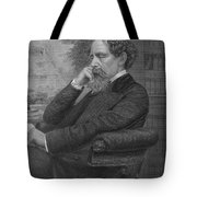 Charles Dickens, English Author Tote Bag