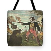 Charles Gibbs, American Pirate Tote Bag