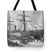 Charleston: Cotton Ship Tote Bag