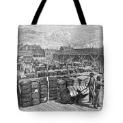 Charleston: Cotton Wharf Tote Bag