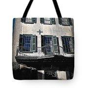 Charleston Houses Tote Bag