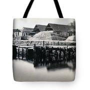 Charleston South Carolina - Vanderhorst Wharf - C 1865 Tote Bag