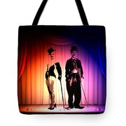 Charlie And Marilyn Tote Bag
