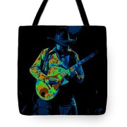 Playing Psychedelic Blues At Winterland In 1975 Tote Bag