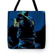 Winterland Cosmic Fiddler Tote Bag