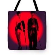 Charlie Meet Marilyn Tote Bag
