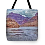 Charting The  Mighty Colorado River Tote Bag