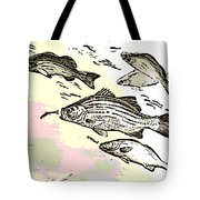 Chasing Lunch Tote Bag
